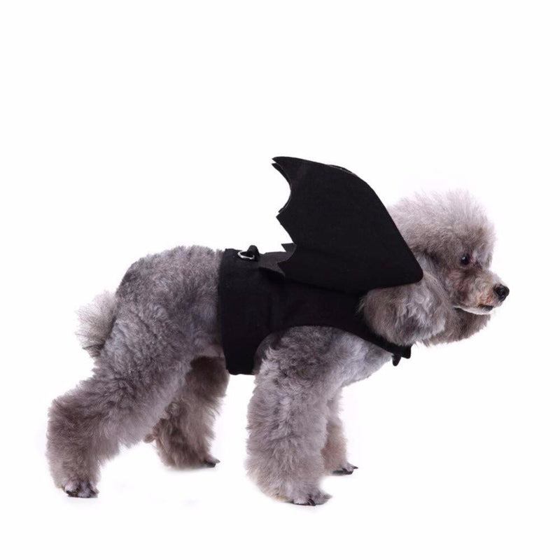 Halloween Costumes Bat Wings Cosplay for Small Dogs Cats