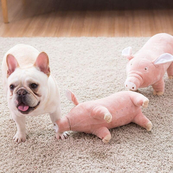 Dog Sleeping Partner - Toy Pig