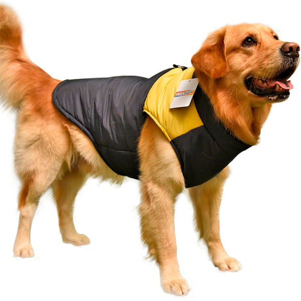 Large Dog Winter Clothing Vest Warm Apparel Pet Clothes 3XL-7XL