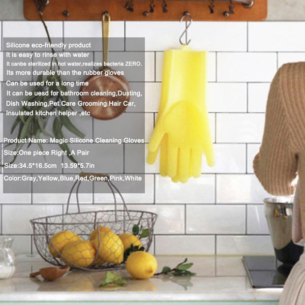 Multi-functional Amazing Silicone Cleaning Gloves