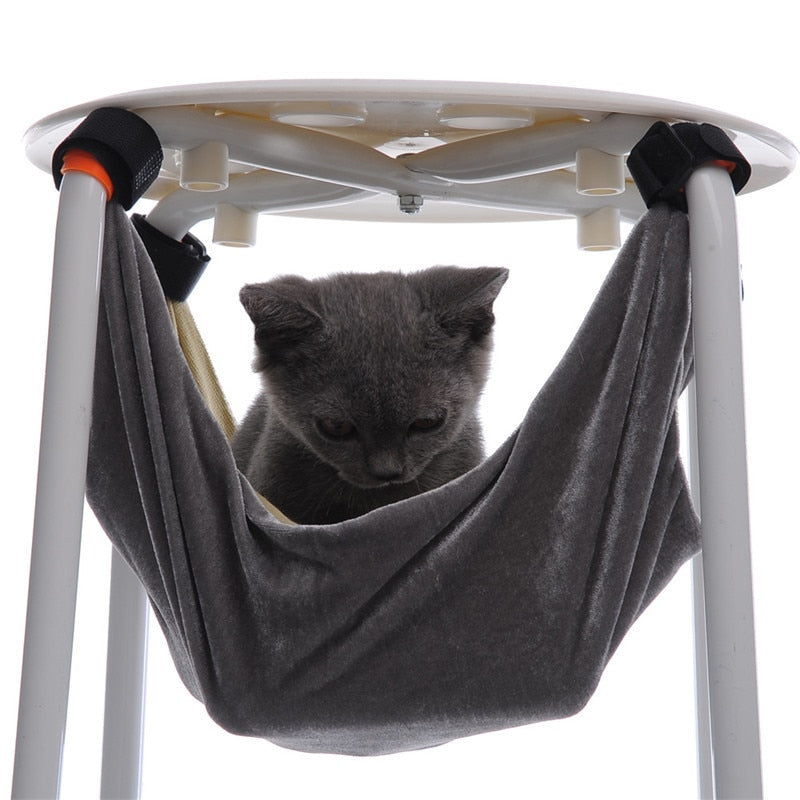 S/M Cat Bed Pet Hammock Removable Hanging Soft