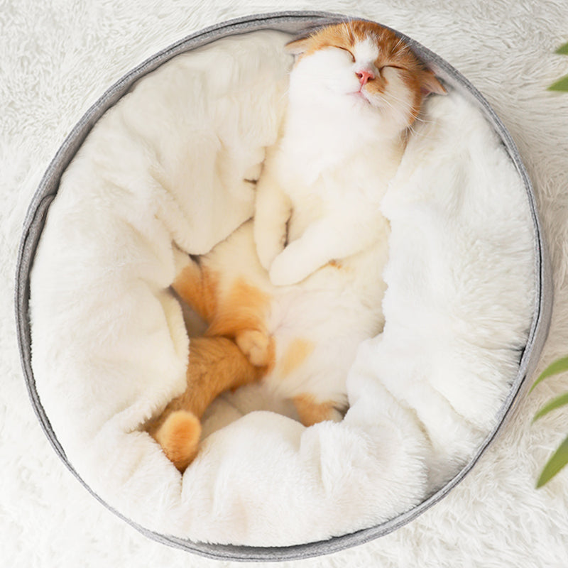 Pet Cat Bed Soft Comfortable Winter House
