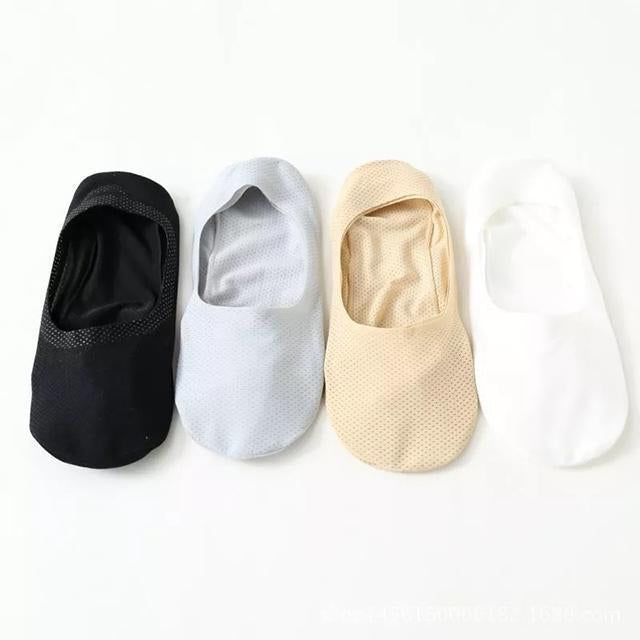 Breathable Ice Silk Socks (Set of 4)