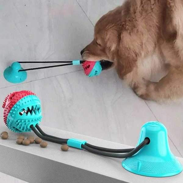 Dental Ball Suction Tug Toy-DoggyTopia
