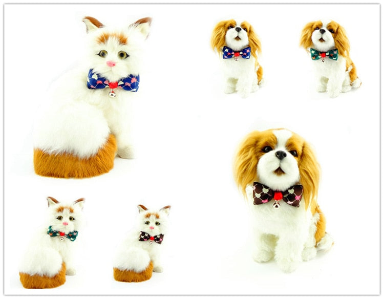 Pet Bow Tie Assorted Designs Cat Collar Cat Costume
