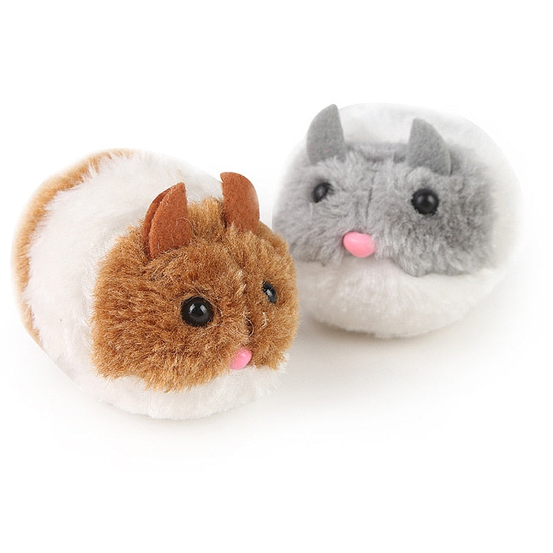 1PC Cute Cat Toy Plush Toy Shake Movement Mouse