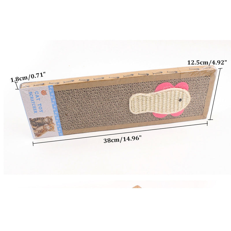 Pad Corrugated Paper Cat Scratcher Board Soft Bed