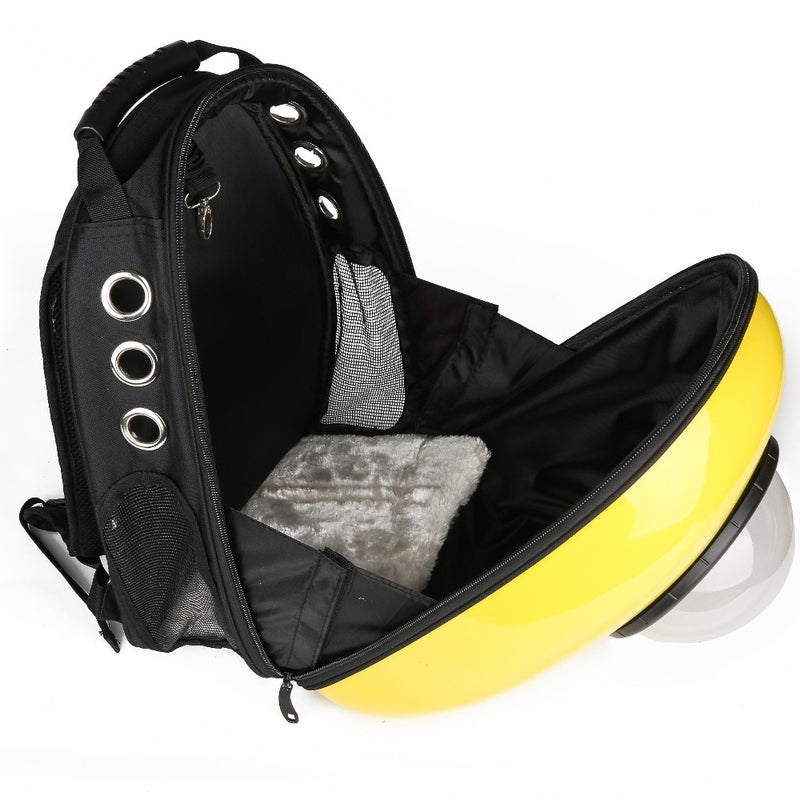Pet Cat Space Carrier Outdoor Bag Breathable