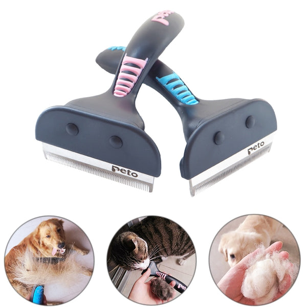 Pet Dog Cat Hair Removal Brush Comb Pet Grooming Tools
