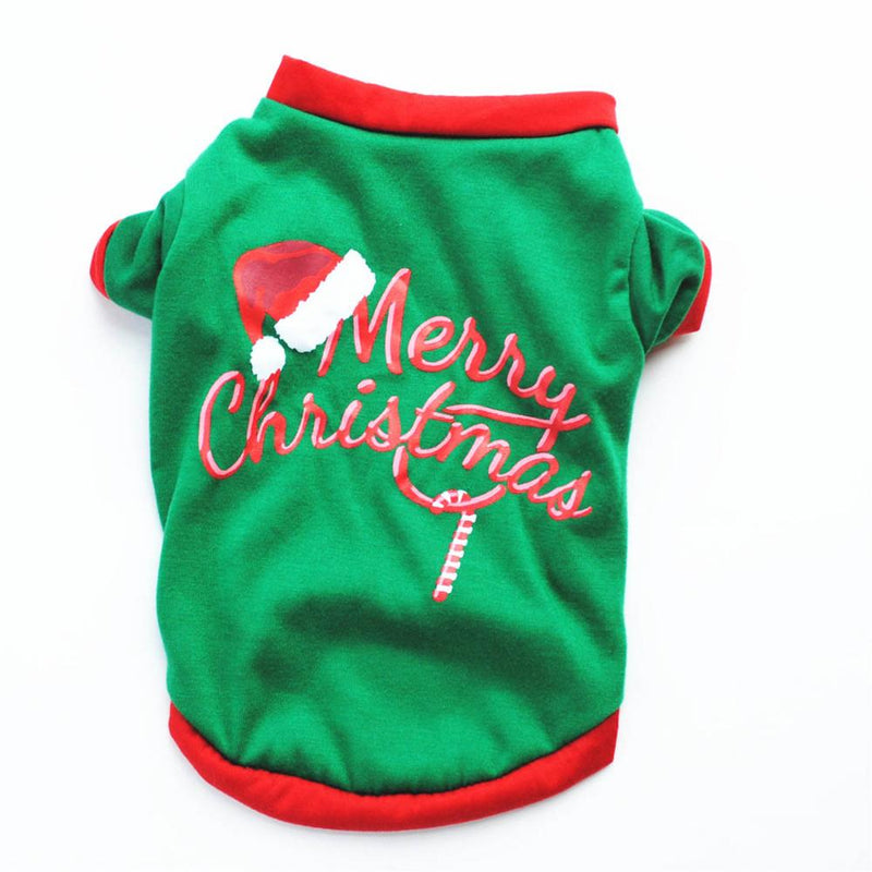 Pet Dog Clothes Christmas Costume Cute Cartoon Clothes