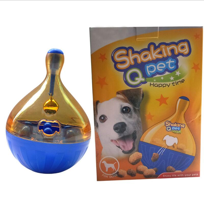 Pet Dog Cat Feeding Tumbler Leakage Food Ball