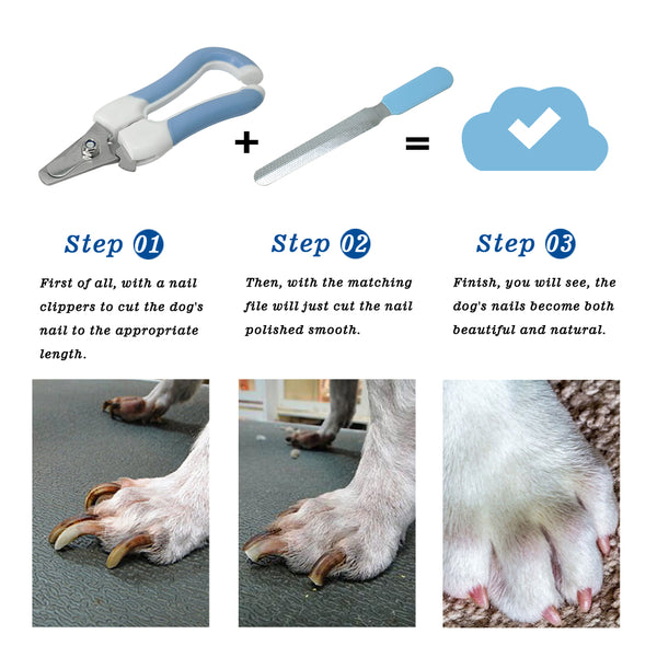 Pet Safety Claw Nail Scissors Cutter Dogs & Cats