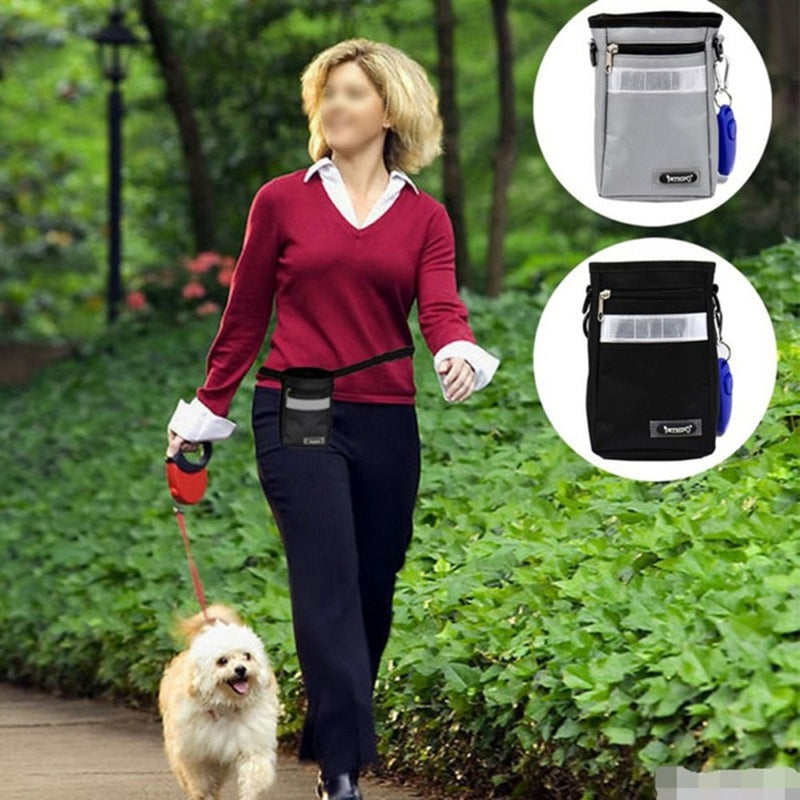 Portable Dog Outdoor Training Treat Bags Pet Dogs Pouch Feed Storage
