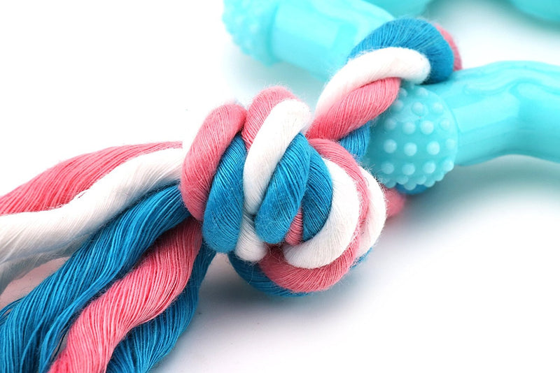 Puppy Chew Toys Dog Durable Teething with Rope