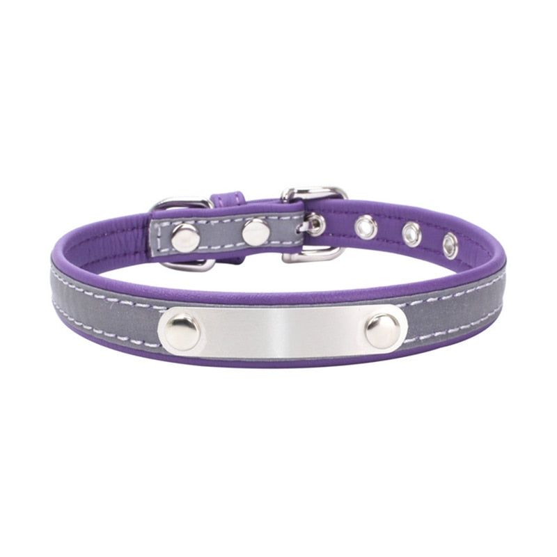 Cat Collar Personalized ID Collar Engrave Name Phone Number