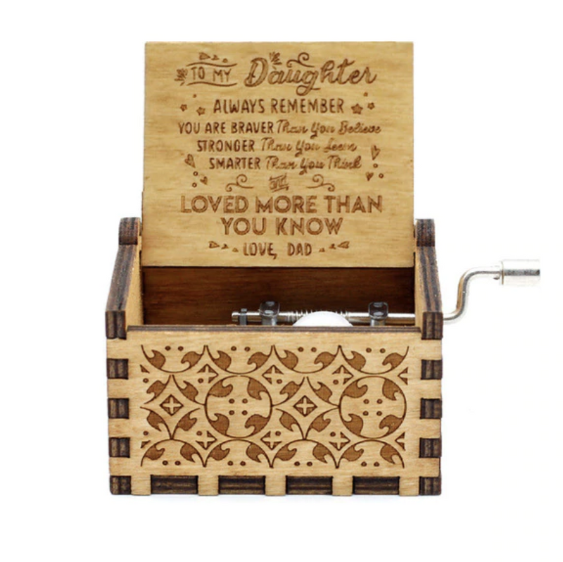 Mom To Daughter Music Box Gifts