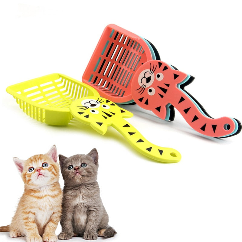 Useful Cat Litter Shovel Cleanning Tool Plastic