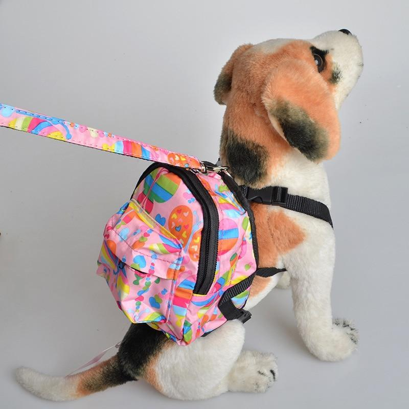 Front-back four-hole pet backpack travel