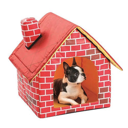 New Pet Small House Folding Portable Soft Warm Blanket