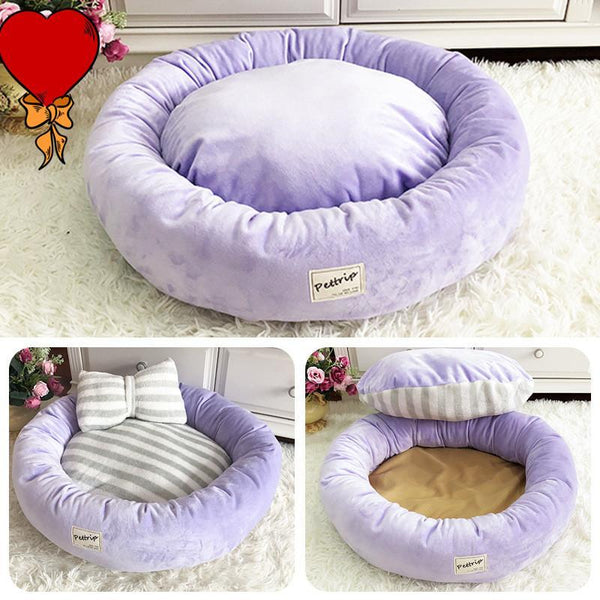 Pet Dog Bed Mats Round