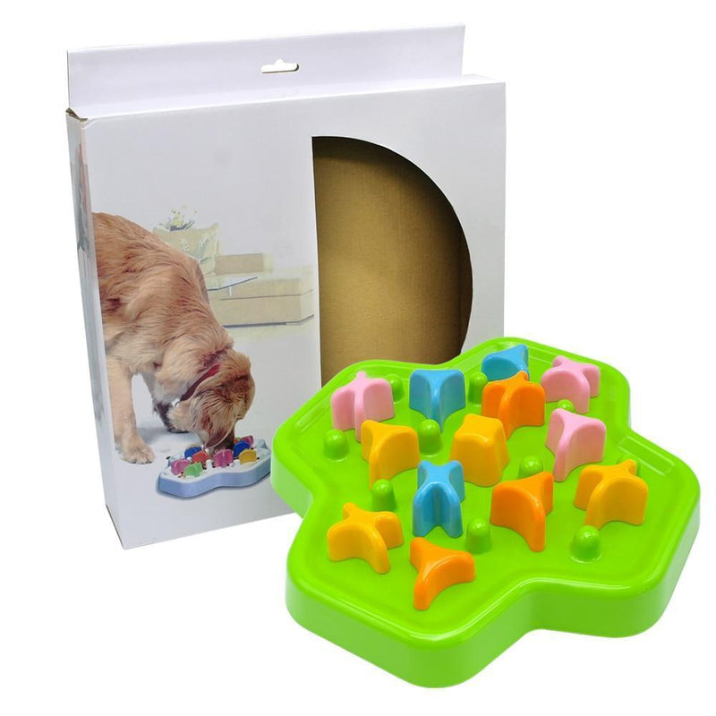 Interactive Dog Toys Pet IQ Treat Food Toy Dog Training Toys Puzzle