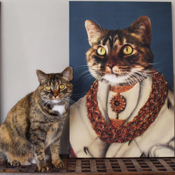 The Heiress - Custom Pet Canvas