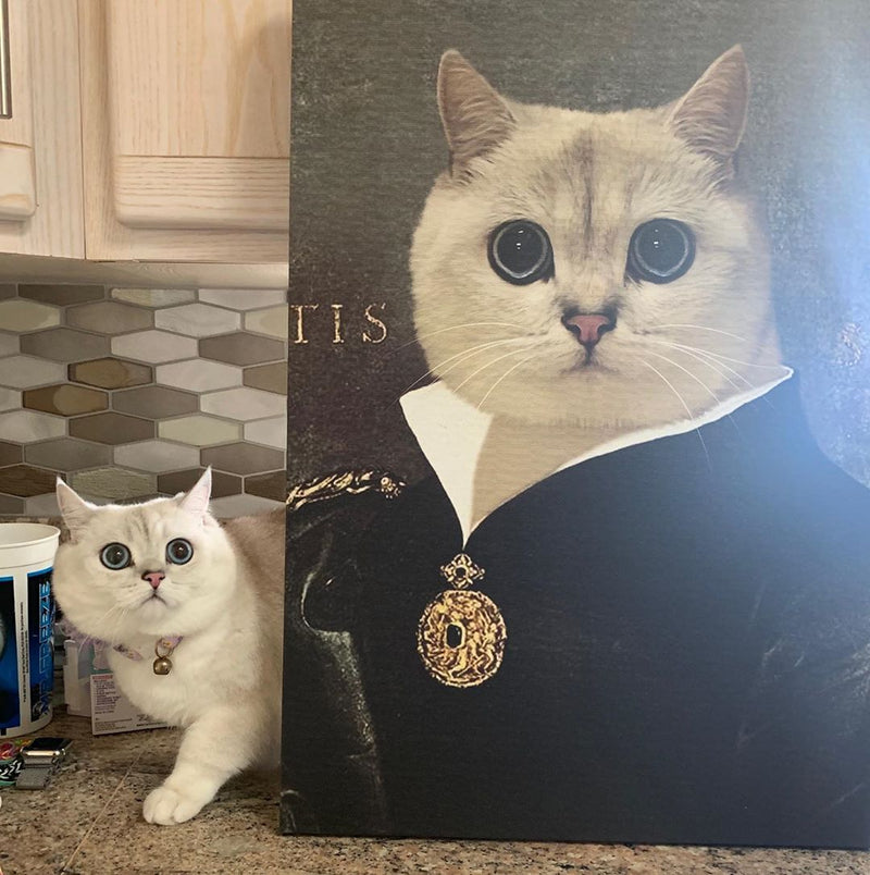 The Duchess - Custom Pet Canvas