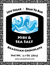 Load image into Gallery viewer, Nibs & Sea Salt