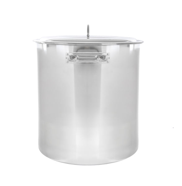 S-Series Stainless Steel Brew Kettle w/ Domed Lid. (Avail. in 20 - 180 QT)