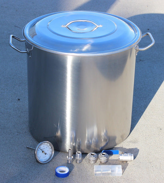 Home Brew Stainless Steel Kettle with DIY Kit Accessories - Concord Kettles - 1