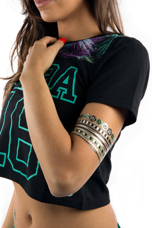 Ultra Metallic Glow Tattoos