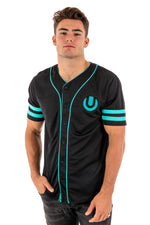 Ultra Black Baseball Jersey