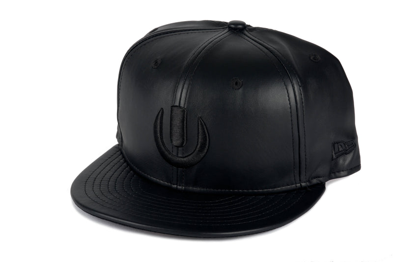Ultra Limited New Era Black Leather Hat