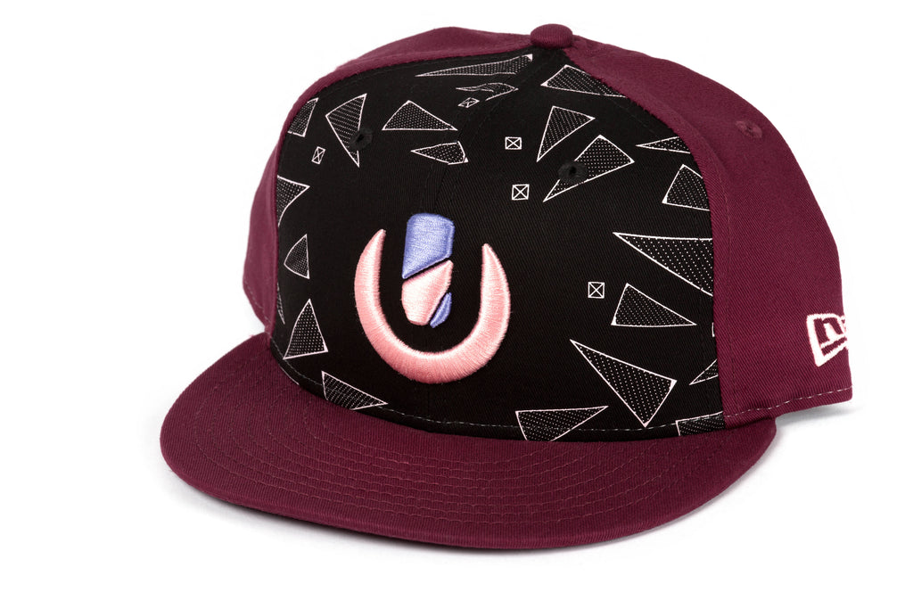 Ultra Limited New Era Maroon Triangles Hat