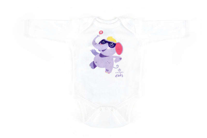 Ultra Cubs Long Sleeve Bodysuit