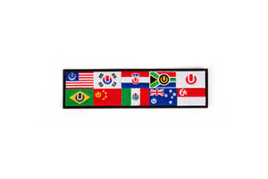 Ultra Worldwide Flag Patches