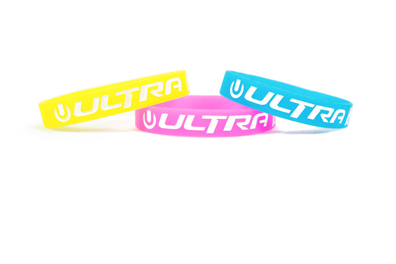 Ultra Silicone Bands - 3 Pack
