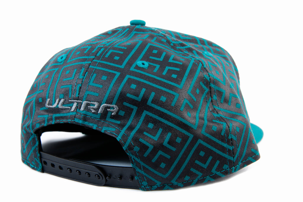 Ultra Limited New Era Hat (Aqua/Graphite)