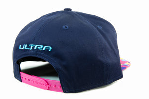 Ultra Limited New Era Hat (Navy Blue / Pink)