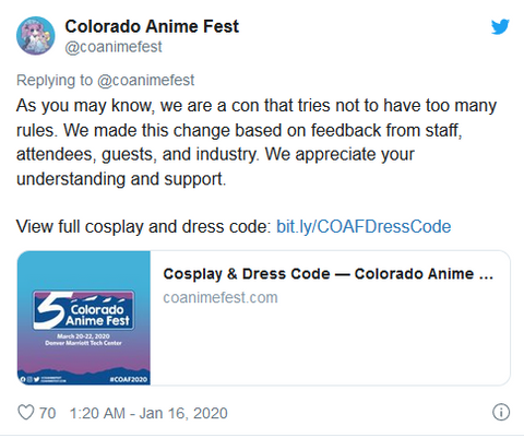 ahegao english colorado convention prohibed ban