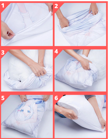Dakikamura pillow uses | Ahegao.fr