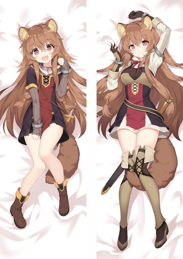 Dakimakura Raphtalia Adult Version | The Rising of the Shield Hero | Ahegao.fr