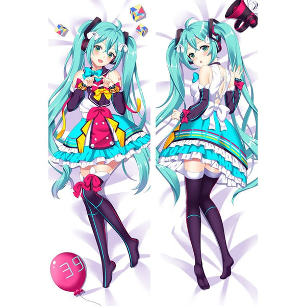 Dakimakura Hastune Miku play dress | Vocaloid | Ahegao.fr