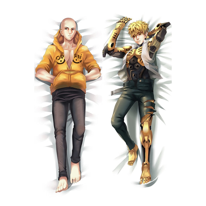 Dakimakura Saitama and Genos | One punch man | Ahegao.fr