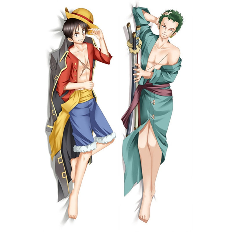 Dakimakura Luffy and Zorro | One piece | Ahegao.fr