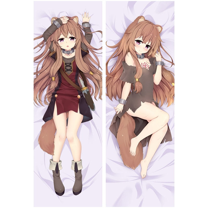 Dakimakura Raphtalia | The Rising of the Shield Hero | Ahegao.fr