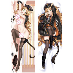 Dakimakura Neko-girl Cat Brune | Arcknight | Ahegao.fr
