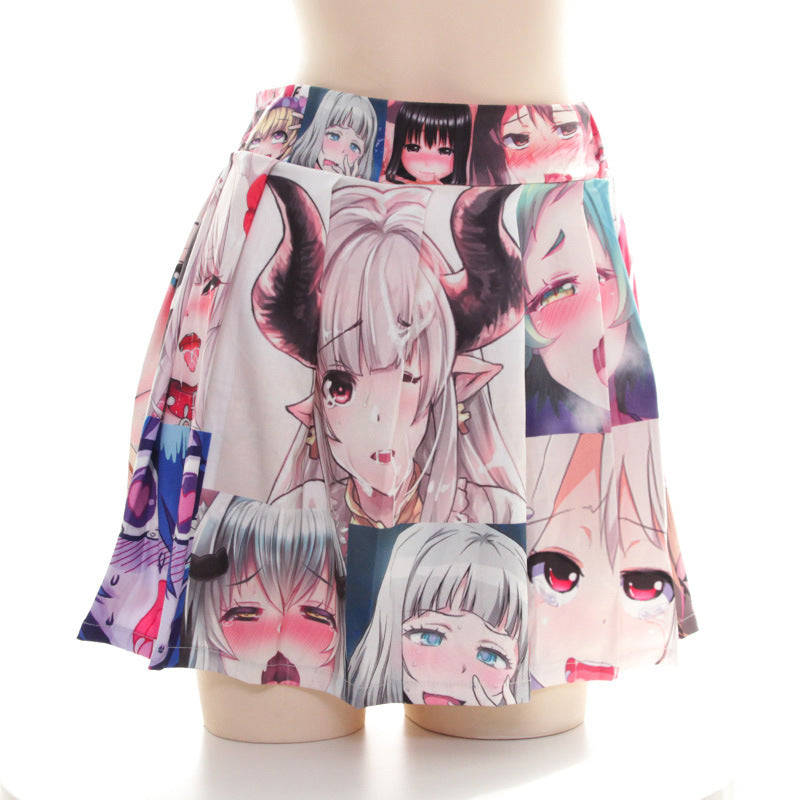 Colorful Ahegao Skirt | Ahegao.fr