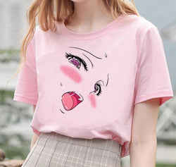 T-shirt Ahegao unique