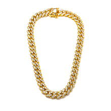 Load image into Gallery viewer, CLASSIC ICY CUBAN LINK NECKLACE